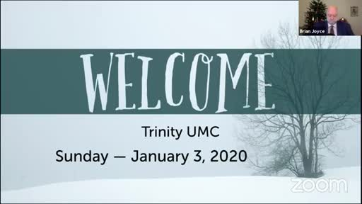 Sunday Worship—Jan. 3, 2020