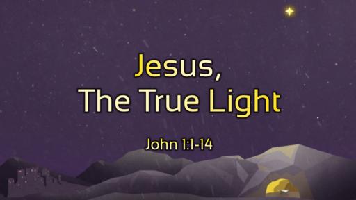01.03.2021 - Jesus, The True Light SDV