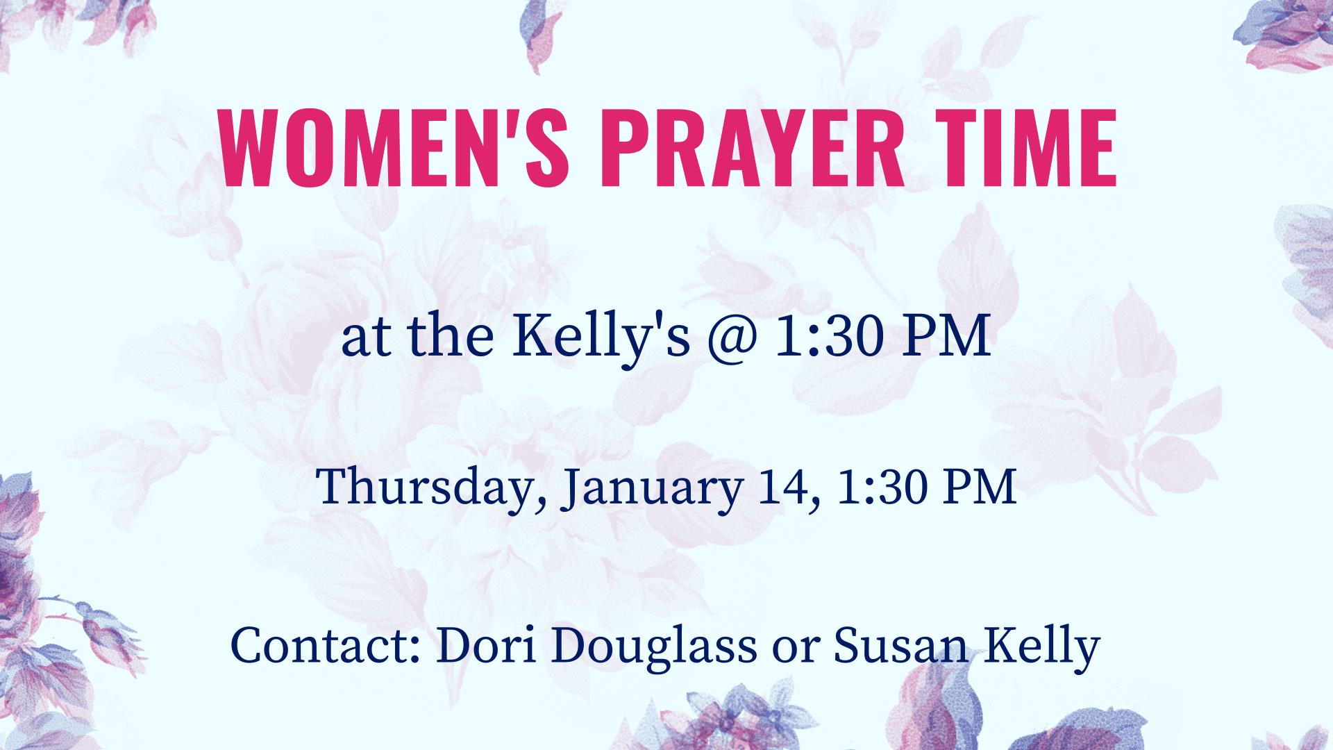 Women's Prayer Time
