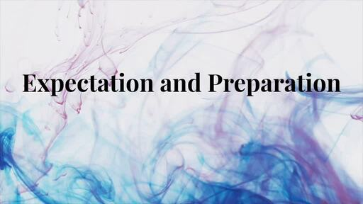 Expectation and Preparation