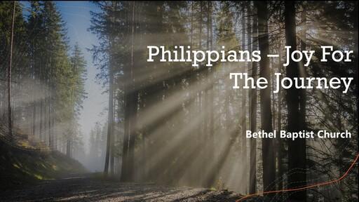Philippians 1:1-11 - Confident Joy