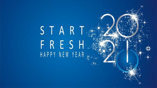 Start Fresh, Psalm 51:10 - January 3, 2021