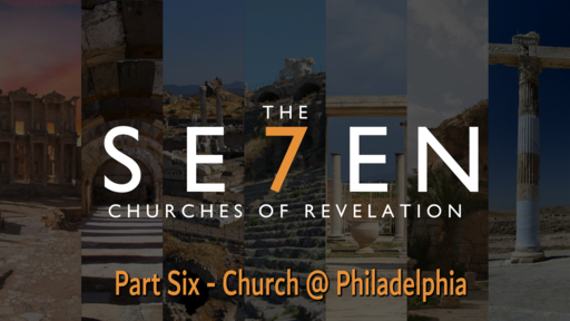 To the Church at Philadelphia, Sunday December 27, 2020