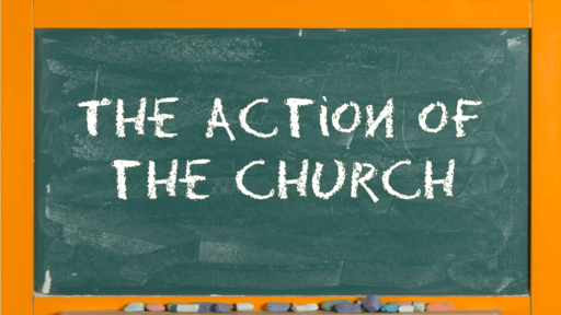 The Action of the Church