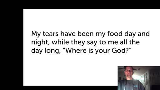 Mon. Jan 4, '21 Evening PPT Psalm 42