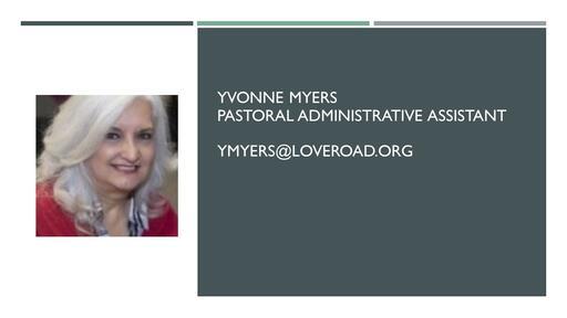 Staff Powerpoint Yvonne