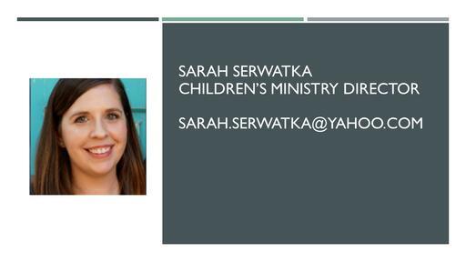 Staff Powerpoint Sarah