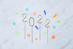 2022 Sparkler Candles with Confetti  image 12