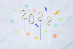 2022 Sparkler Candles with Confetti  image 13