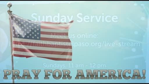 January 6, 2021 Wednesday Service
