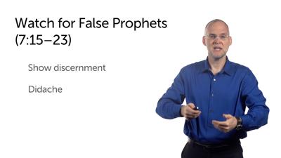 Present Claims versus Future Judgment (Matt 7:13–27)