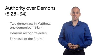 Jesus' Authority over Nature and Demons (Matt 8:23–34)