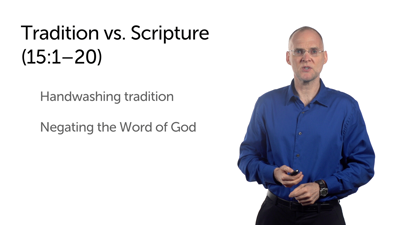 Water and Tradition under Divine Authority (Matt 14:22–15:20)