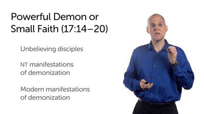 Jesus' Transfiguration and the Spiritual World (Matt 16:18b–17:20)