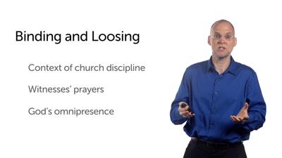 Humility and Church Discipline (Matt 18:1–5, 15–20)