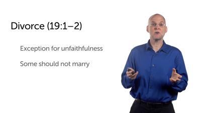 Grounds for Divorce and Welcoming Children (Matt 19:1–15)