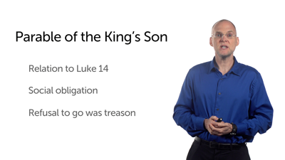 Scorning the King's Son (Matt 22:1–14)