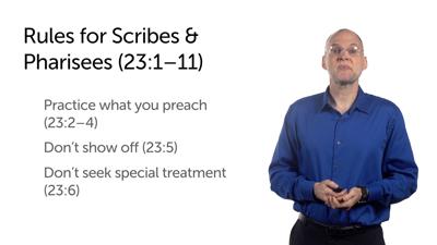 Call to Humility (Matt 23:2–12)