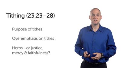 Woe to Human Religion (Matt 23:13–28)