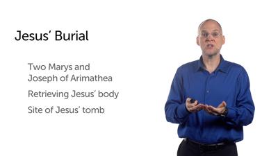 Guardians of Jesus' Body (Matt 27:57–66)