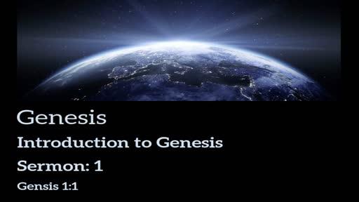 Genesis Lesson 1 - Introduciton Lesson