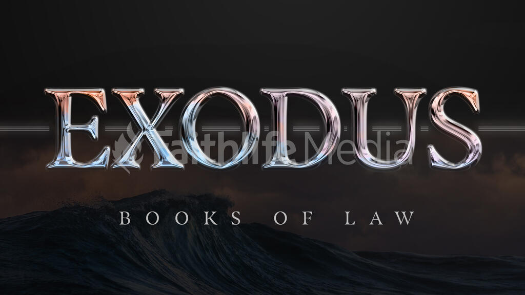 Exodus Book of Law large preview