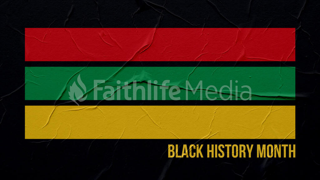 Black History Month Stripes large preview