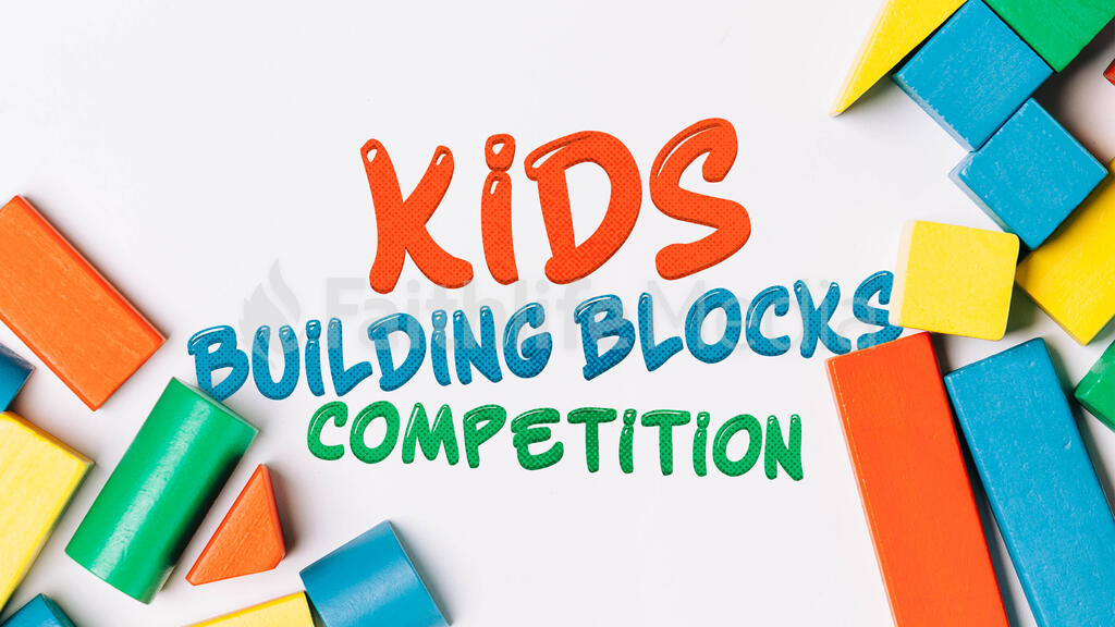 Kids Building Blocks Competiton large preview