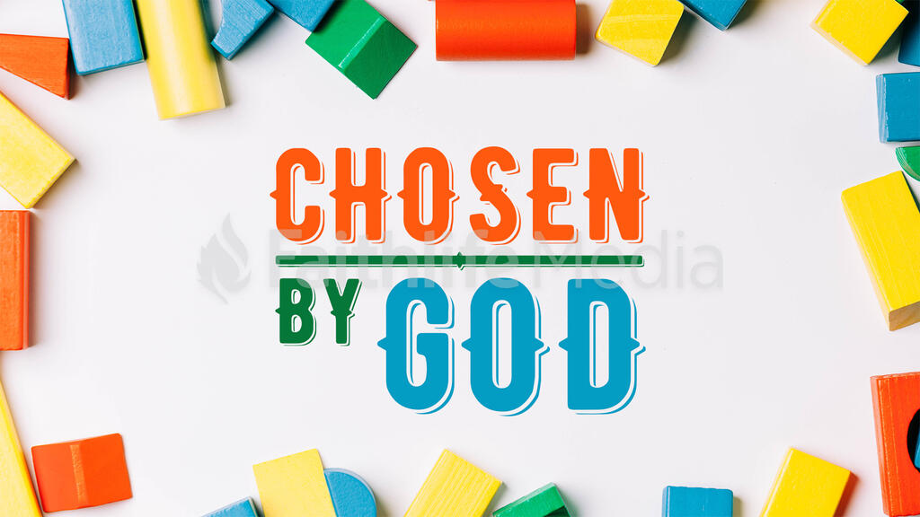 Chosen By God large preview