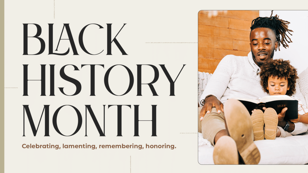 Black History Month Celebrating large preview