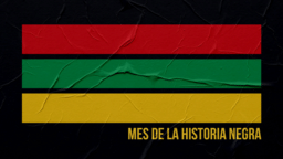 Black History Month Stripes  PowerPoint image 3