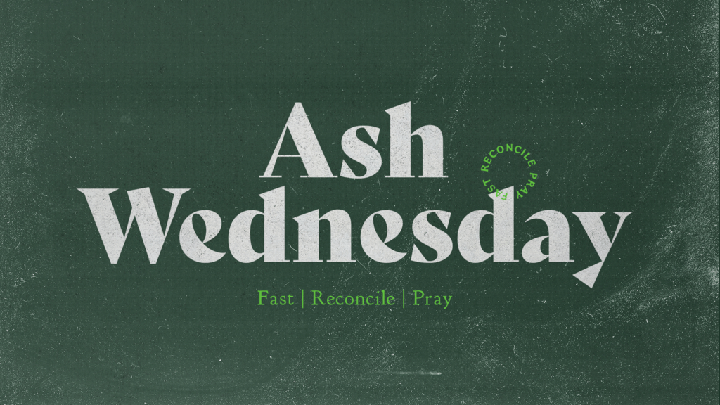 Ash Wednesday Chalk Board large preview