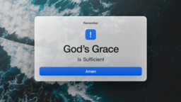 God's Grace Ocean  PowerPoint image 1