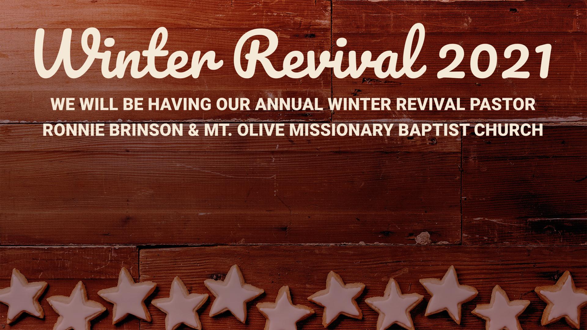 Winter Revival 2021