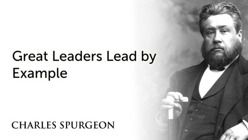 Great Leaders Lead by Example