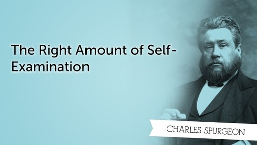 The Right Amount of Self-Examination