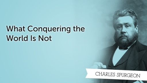 What Conquering the World Is Not