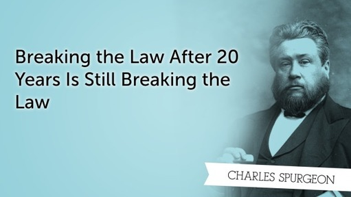Breaking the Law After 20 Years Is Still Breaking the Law