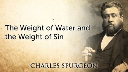 The Weight of Water and the Weight of Sin