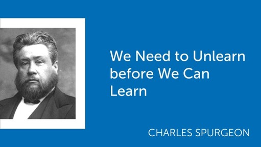 We Need to Unlearn before We Can Learn