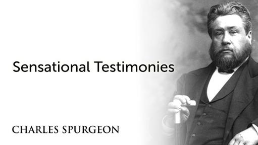 Sensational Testimonies