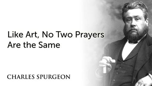 Like Art, No Two Prayers Are the Same