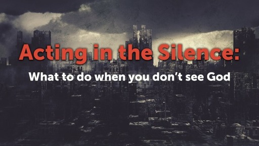Acting in the Silence