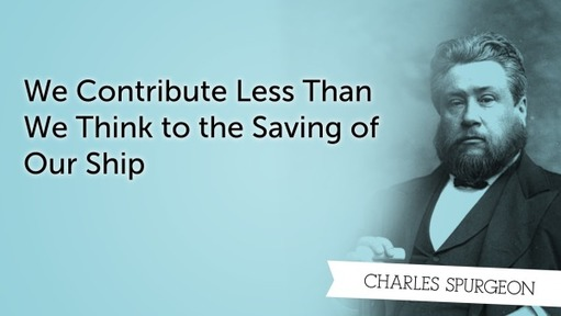 We Contribute Less Than We Think to the Saving of Our Ship