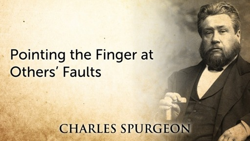 Pointing the Finger at Others' Faults