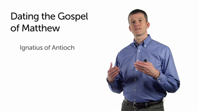 Dating the Gospel of Matthew and Luke