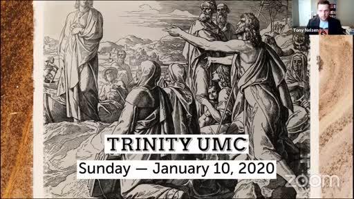 Sunday Worship—Jan. 10, 2020