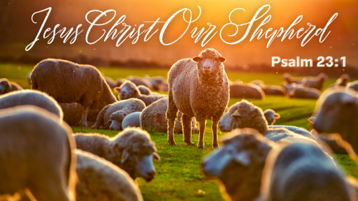 Jesus Christ Our Shepherd