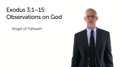 God's Condescension: Moses