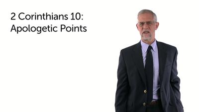 Summary of Paul's Teaching in 2 Corinthians 10:1–5